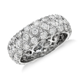 Radiance Diamond Eternity Ring in Platinum (2.25 ct. tw.)