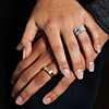 铂金 Bella Vaughan for Blue Nile 华丽阿斯彻形钻石戒指 第一另类视图