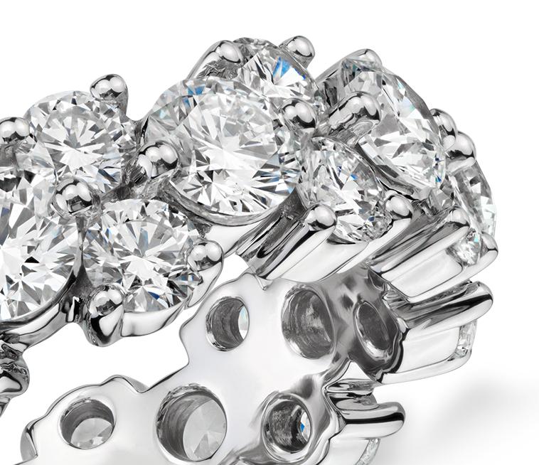 Garland Diamond Eternity Ring in Platinum (5 ct. tw.)