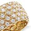 Radiance Diamond Eternity Ring in 18k Yellow Gold (3.41 ct. tw)
