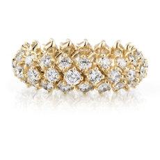 Diamond Flex Eternity Ring in 18k Yellow Gold