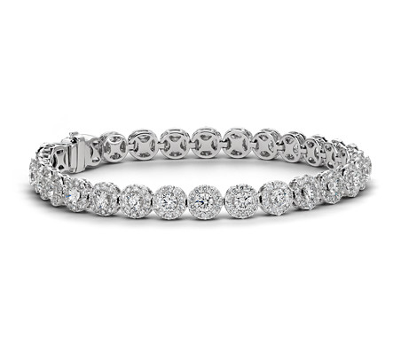 tennis ct diamond cut princess c tw worldjewels classic bracelet