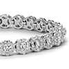 Diamond Halo Bracelet in 18k White Gold (8 ct. tw.)