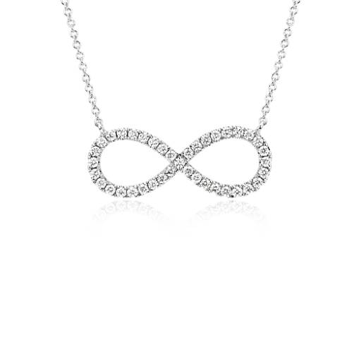 Blue Nile Infinity Knot with Tassel Necklace in 14k Italian Yellow Gold gE4Ek4