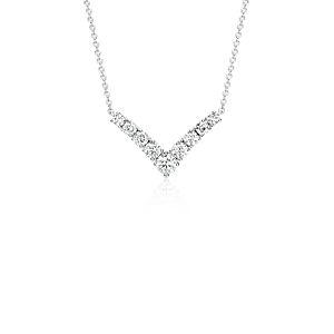 Collar de diamantes en forma de