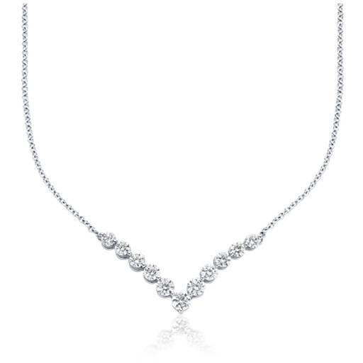 Diamond necklaces diamond pendants in platinum gold blue nile necklace aloadofball Image collections