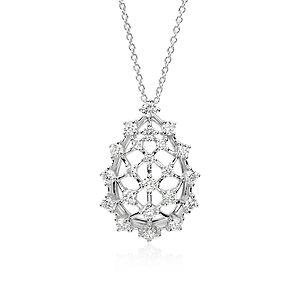 Diamond Necklaces & Diamond Pendants in Platinum & Gold