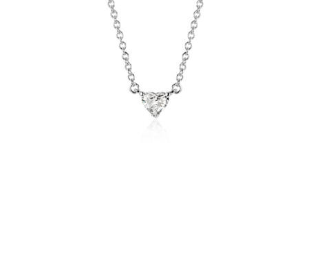 white gem sterling shaped necklace kcfq cz pendant pendants with silver heart