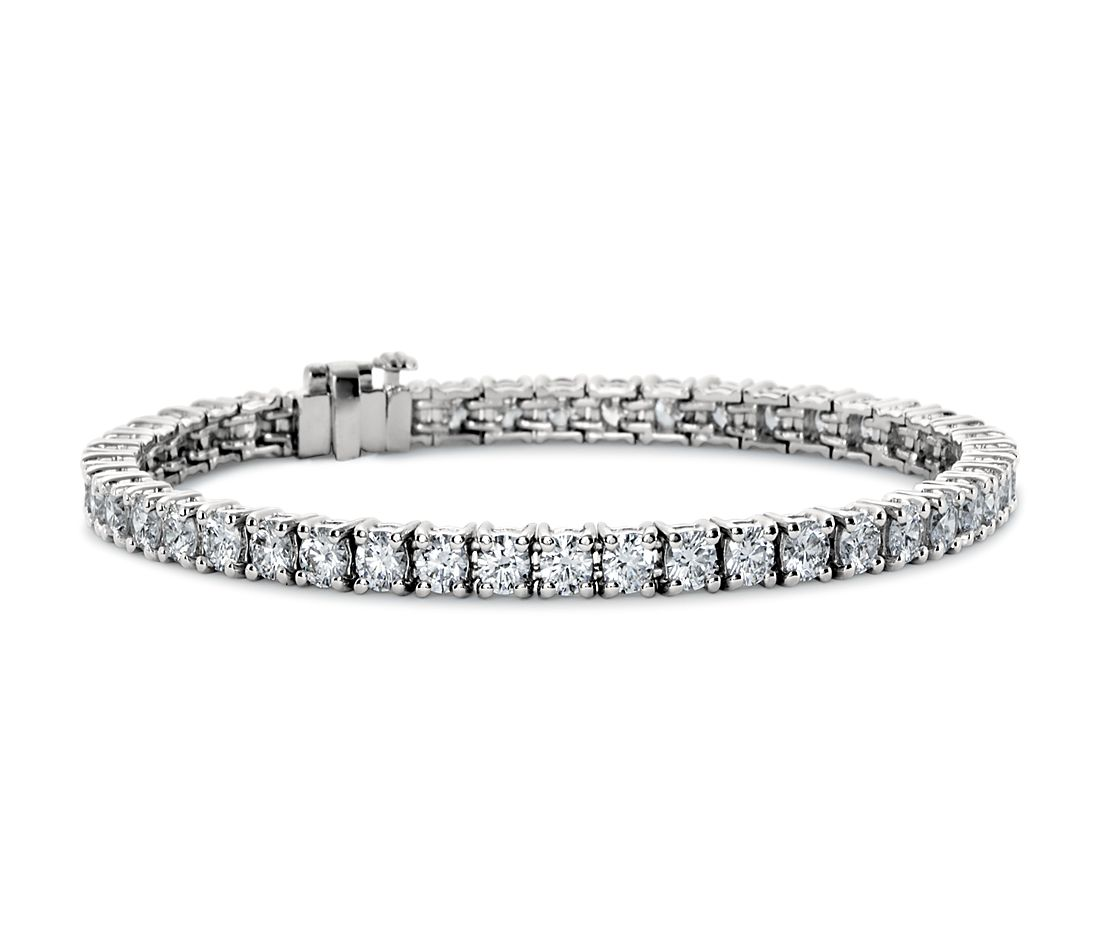 Premier Diamond Tennis Bracelet In Platinum 7 Ct Tw