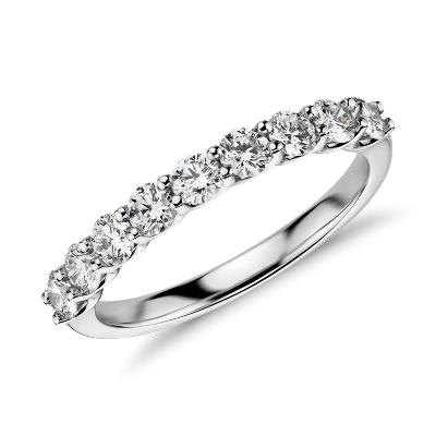 bague diamant et platine
