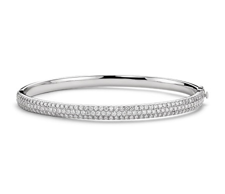 white diamond bangle gold bangles