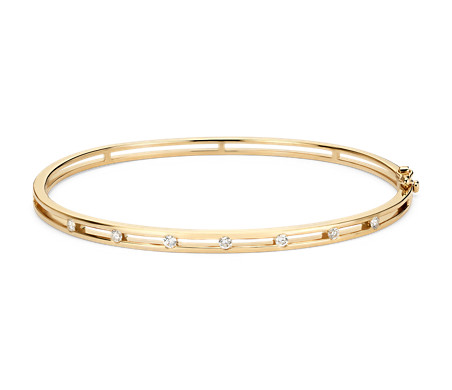 hinged products co solid gold bracelet soha bangle diamond bangles