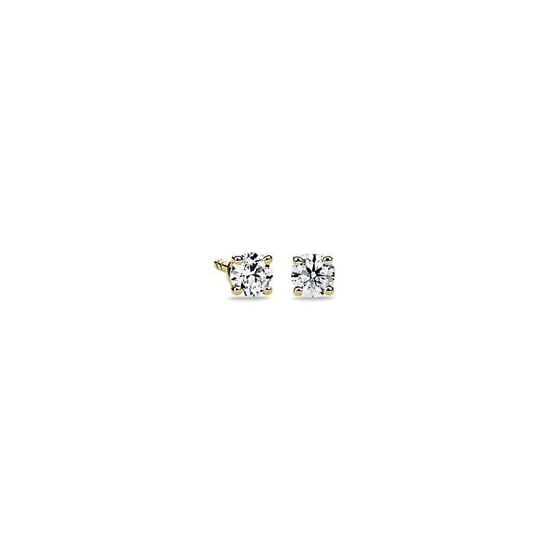 Diamond Stud Earrings in 14k Yellow Gold (1/4 ct. tw.)