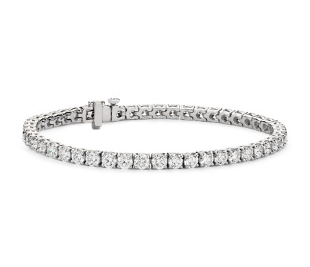 Diamond Tennis Bracelet in 18k White Gold - F / VS (8 ct. tw.)