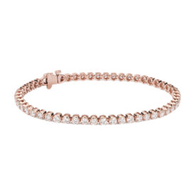 Diamond Tennis Bracelet in 14k Rose Gold (4 ct. tw.)