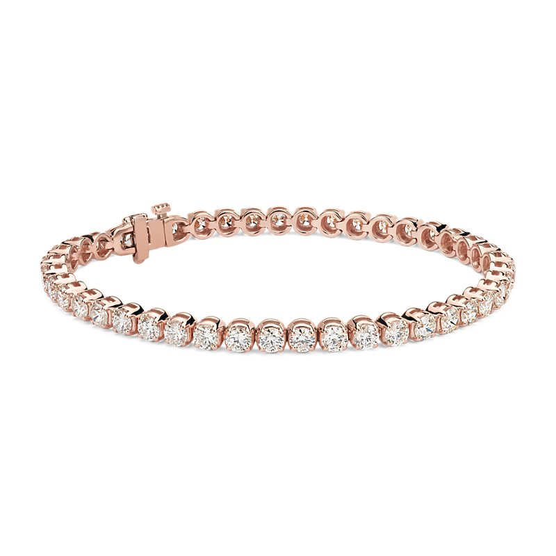 Diamond Tennis Bracelet in 14k Rose Gold (7 ct. tw.)