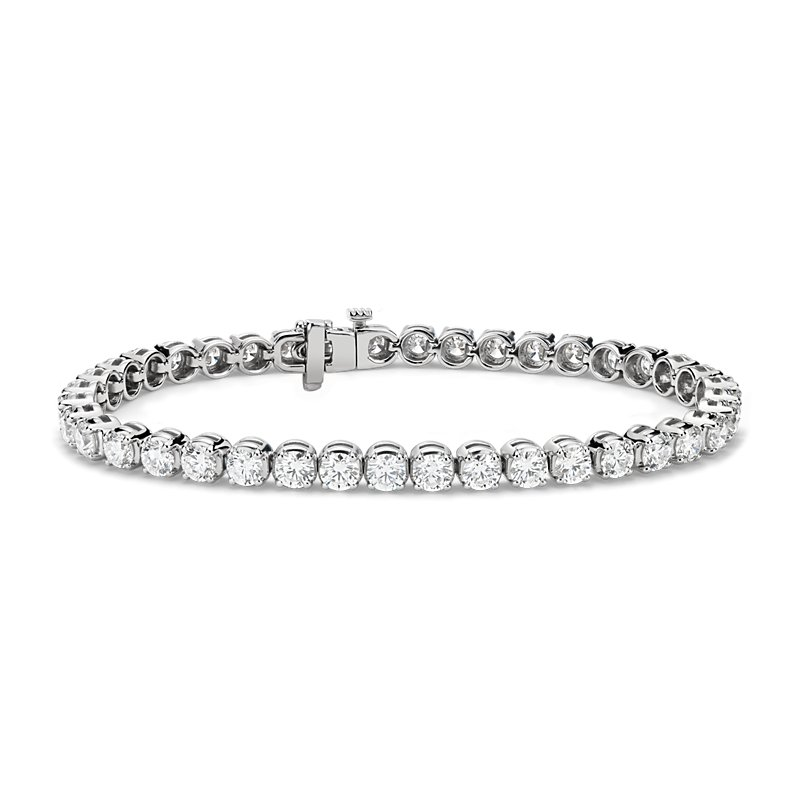 Diamond Tennis Bracelet in 14k White Gold (8 ct. tw.)