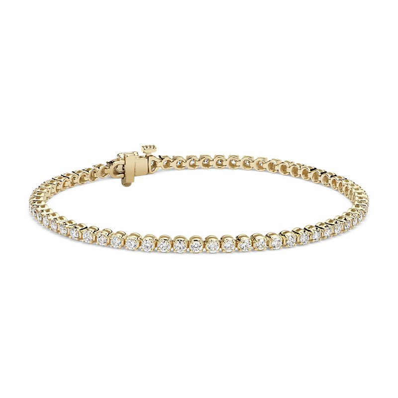 Diamond Tennis Bracelet in 14k Yellow Gold (2 ct. tw.)