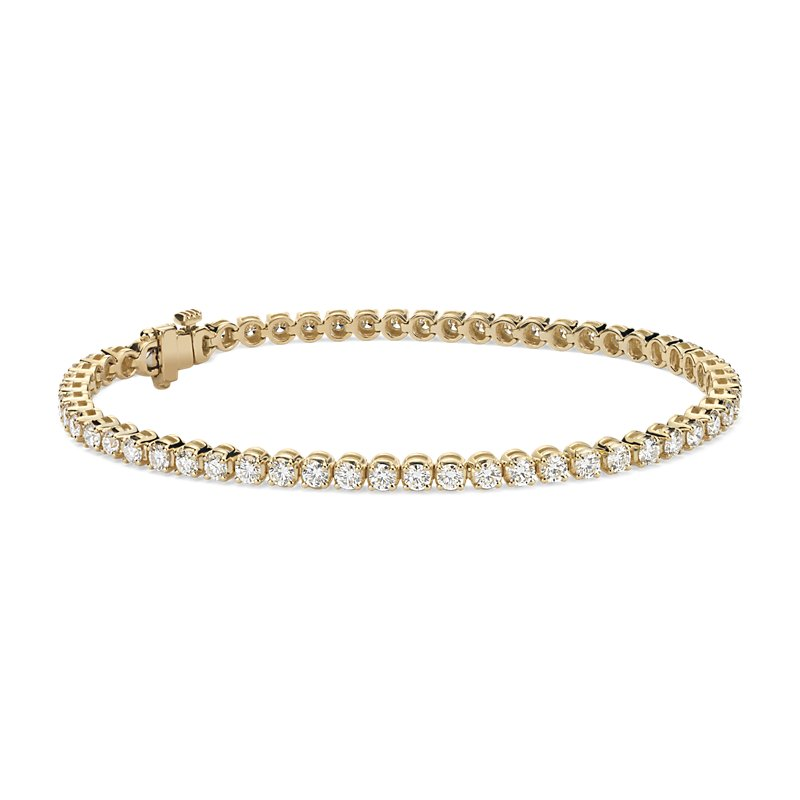 Diamond Tennis Bracelet in 14k Yellow Gold (3 ct. tw.)