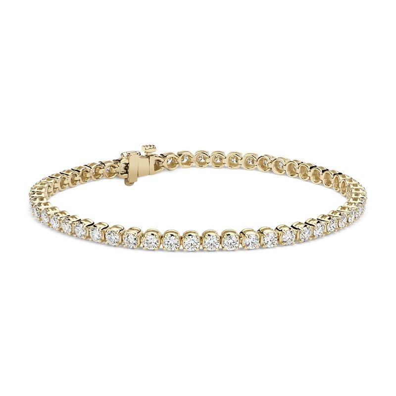 Diamond Tennis Bracelet in 14k Yellow Gold (4 ct. tw.)