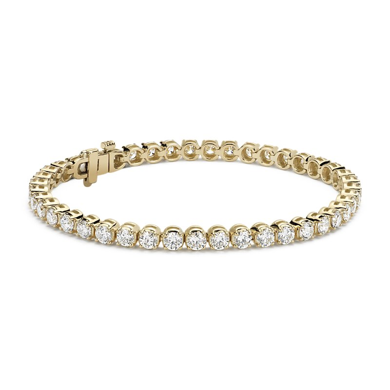 Diamond Tennis Bracelet in 14k Yellow Gold (7 ct. tw.)