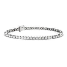 Diamond Tennis Bracelet in 14k White Gold (2.95 ct. tw.)