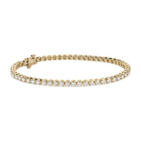 Diamond Tennis Bracelet in 18k Yellow Gold (3 ct. tw.)