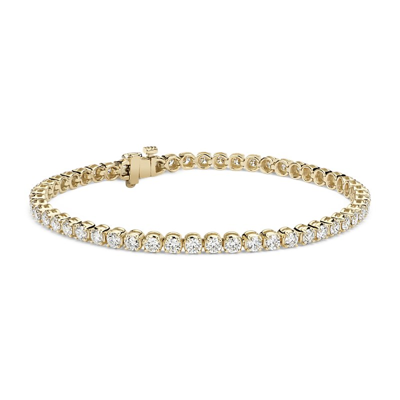 Diamond Tennis Bracelet in 18k Yellow Gold (4 ct. tw.)