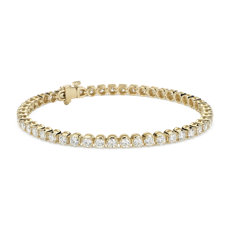 Diamond Tennis Bracelet in 18k Yellow Gold (4.95 ct. tw.)
