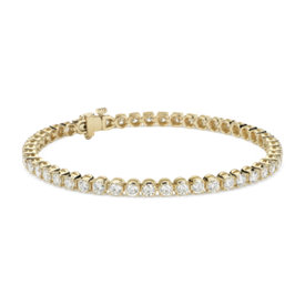 Diamond Tennis Bracelet in 18k Yellow Gold (5 ct. tw.)
