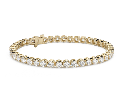 Diamond Tennis Bracelet 18k Yellow Gold (10 ct. tw.)