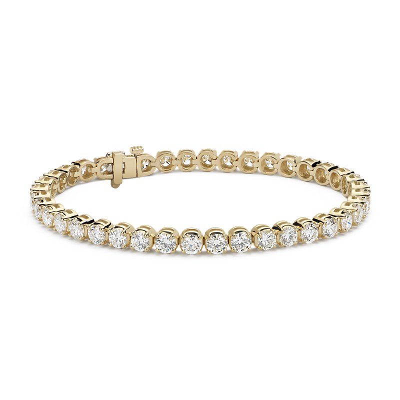 Diamond Tennis Bracelet in 18k Yellow Gold (10 ct. tw.)