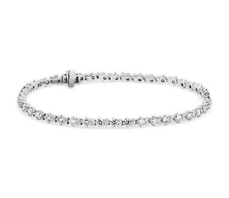 Monique Lhuillier Petite Diamond Tennis Bracelet in 18k White Gold (3 1/2 ct. tw.)