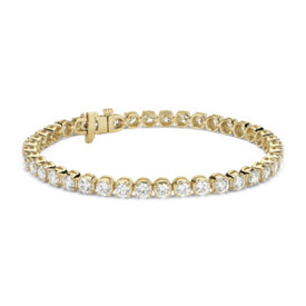 Diamond Tennis Bracelet in 18k Yellow Gold (8 ct. tw.)