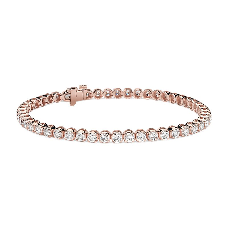 Diamond Tennis Bracelet in 14k Rose Gold (5 ct. tw.)