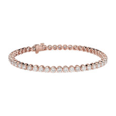 Diamond Tennis Bracelet in 14k Rose Gold (4.95 ct. tw.)