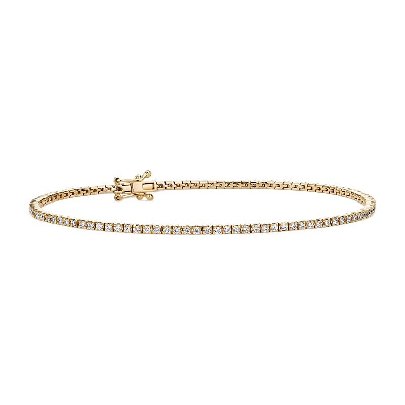 Diamond Tennis Bracelet in 14k Yellow Gold (1 ct. tw.)