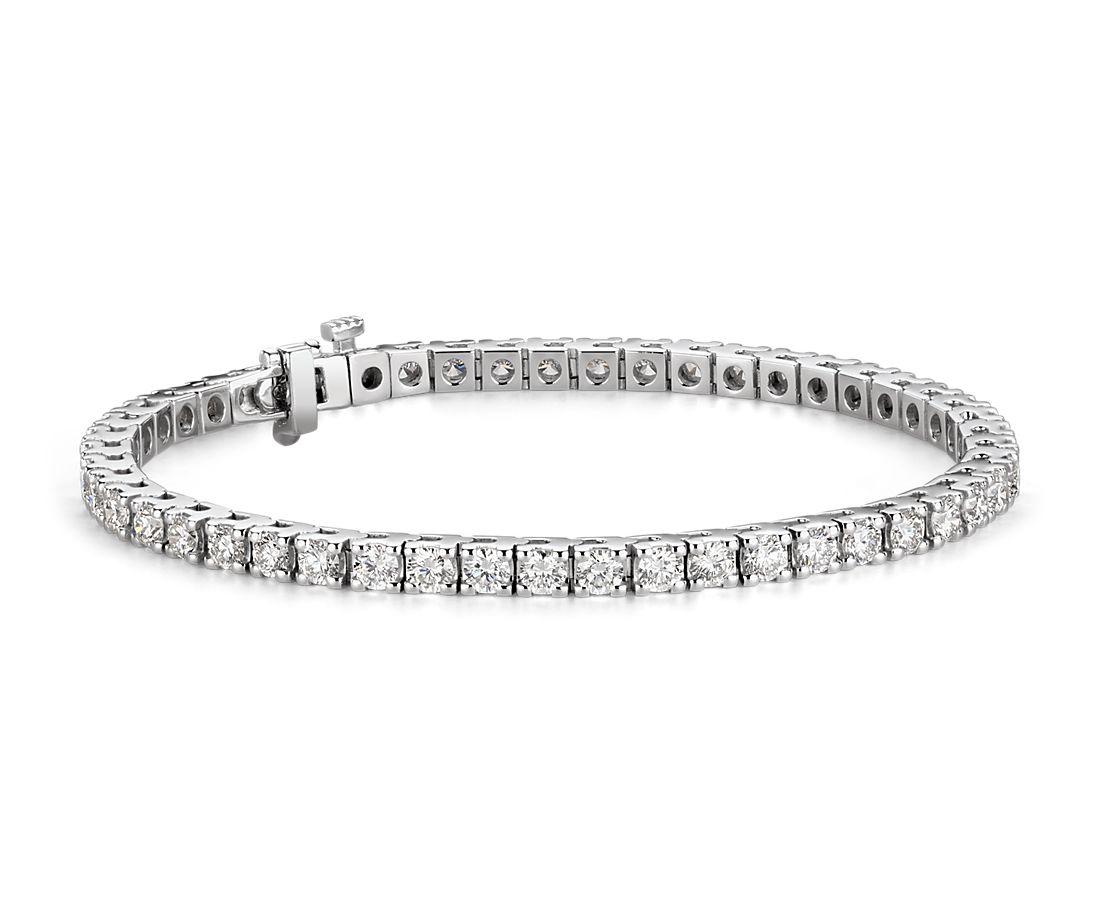 Diamond Tennis Bracelet in 18k White Gold (5 ct. tw.)
