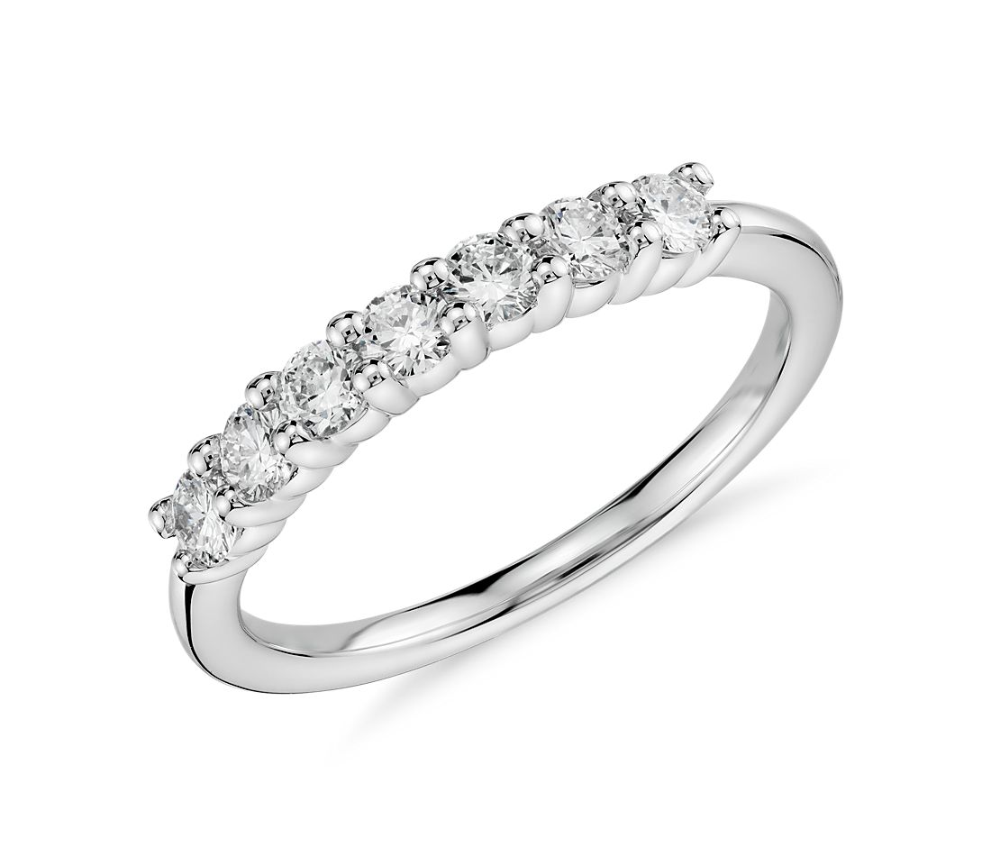 Diamond Ring in 18k White Gold (1/2 ct. tw.)