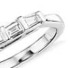 Classic Tapered Baguette Diamond Ring in 14k White Gold (1/3 ct. tw.)