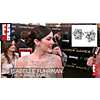 E! News - Isabelle Fuhrman wearing Boucles d'oreilles diamant fleur at The Hunger Games Premiere