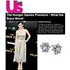 US Weekly - Isabelle Fuhrman Wearing Fleur Diamond Earrings at The Hunger Games Premiere