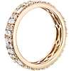 Double Dot Dash Diamond Eternity Ring in 14k Yellow Gold (1 1/3 cttw)