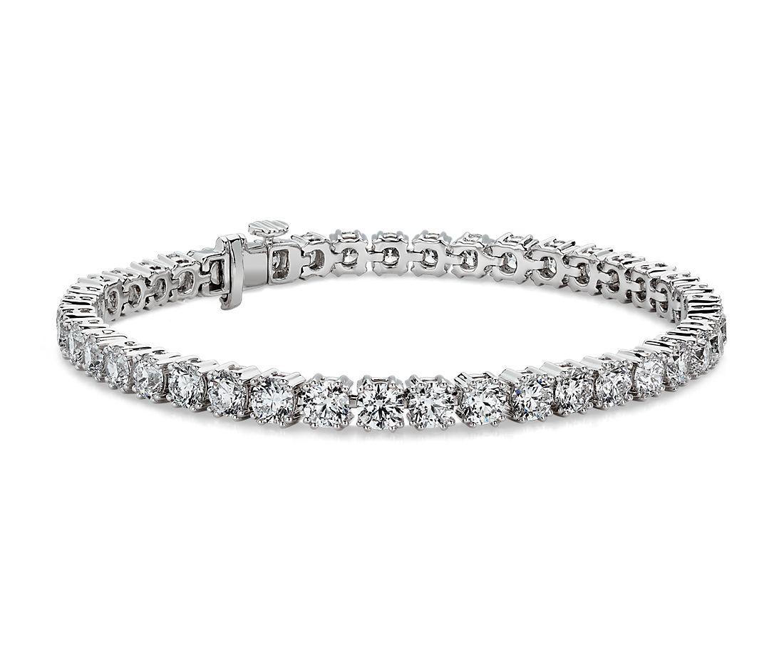 Nouveau Diamond Tennis Bracelet in 18k White Gold (10.13 ct. tw.)