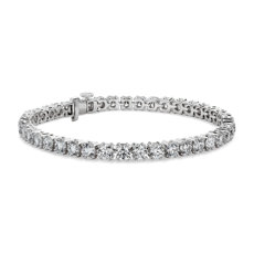 NEW Nouveau Diamond Tennis Bracelet in 18k White Gold - F/SI2 (10 ct. tw.)