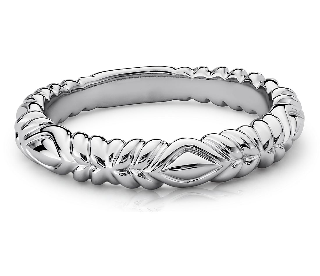 eirostm tendril wedding ring in 14k white gold - 5000 Wedding Ring