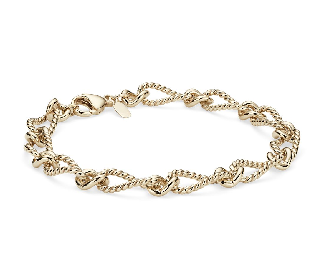 Elegant Bracelet in 14k Yellow Gold