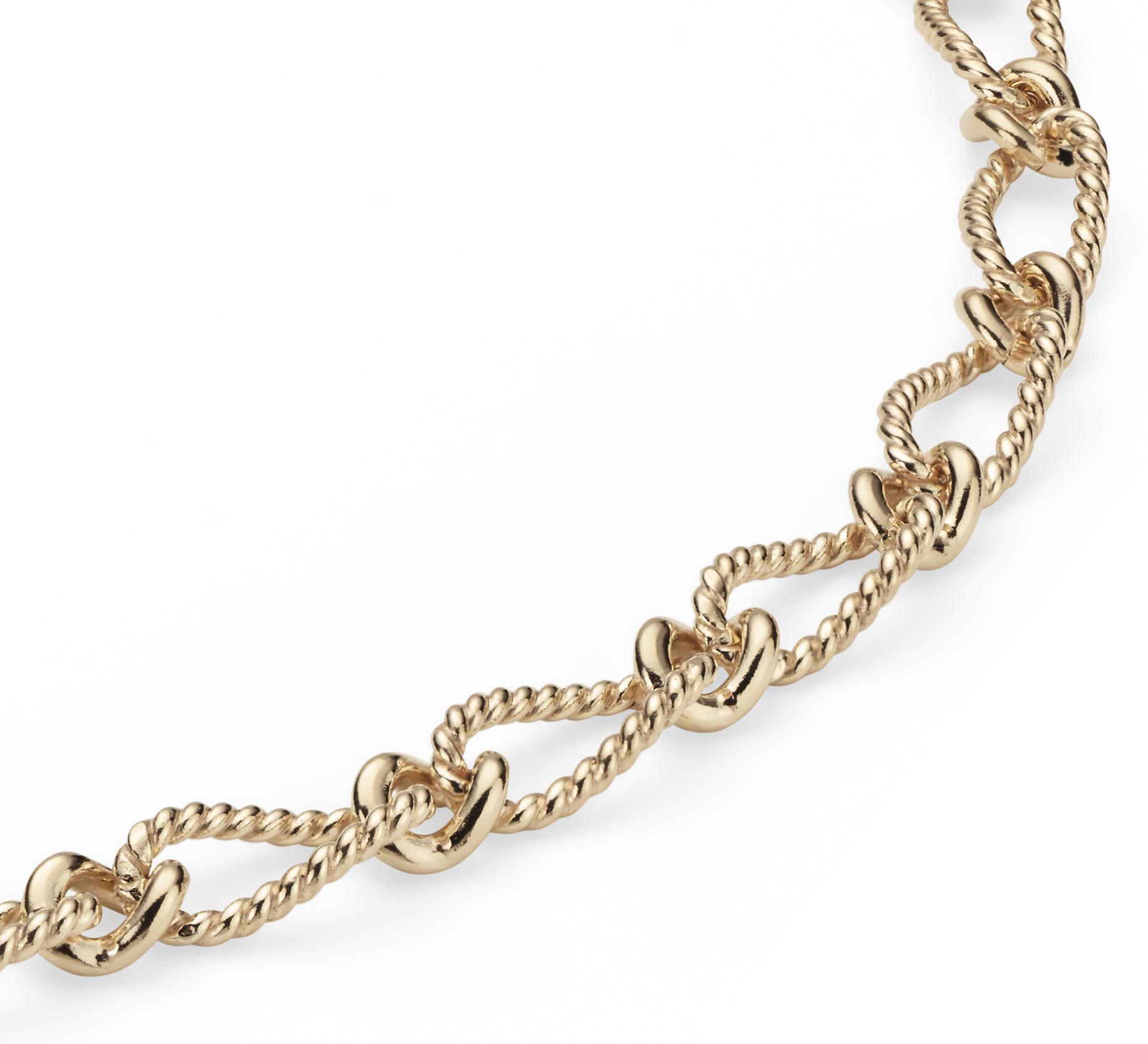 Collar elegante en oro amarillo de 14k