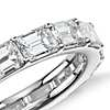 Emerald-Cut Diamond Eternity Ring in 18K White Gold (4 ct.tw)
