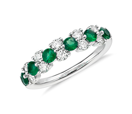 lord collections emerald gold tagged diamond ring emrald white gem pave cushion engagement rings of large wedding